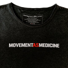 Long-sleeved movement as medicine therapy t-shirt