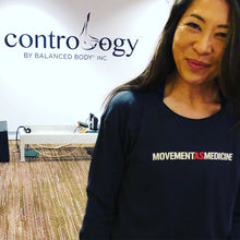 Movement As Medicine Long-Sleeve Pilates Shirt