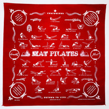 Pilates Exercises on Pilates Bandana All 34 Classic Pilates Exercises