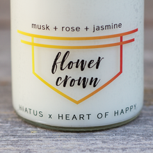 'LET THE LIGHT IN' CANDLE (Flower Crown)