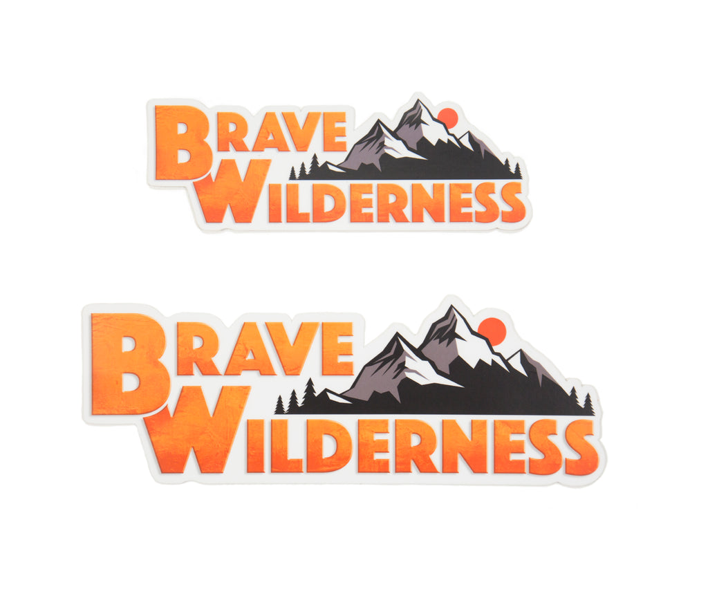 Brave Wilderness Sticker