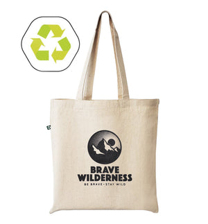 Brave Wilderness Tote Bag