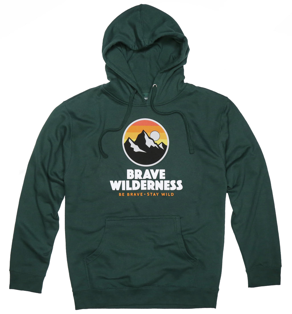 Brave Wilderness Hooded Sweatshirt