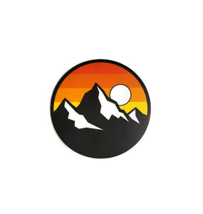 Brave Wilderness Icon Sticker