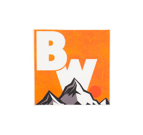 BW Logo Sticker