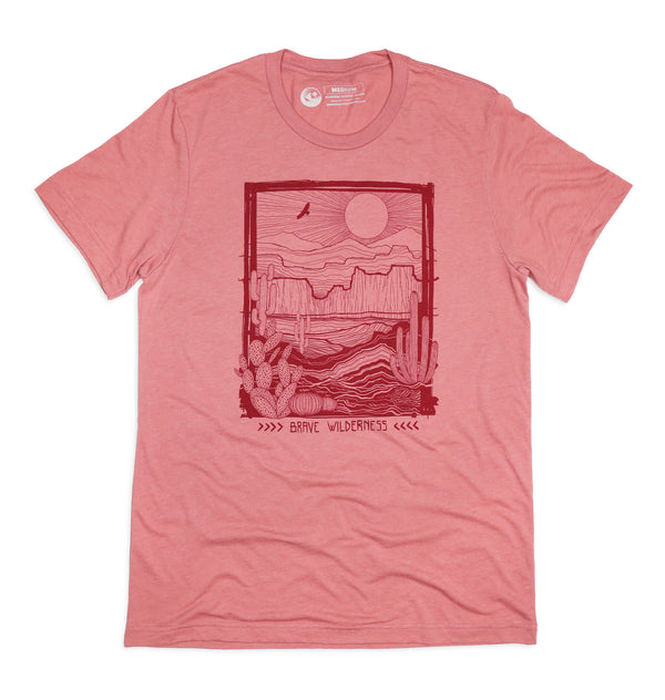Brave Wilderness Desert Biome Tee