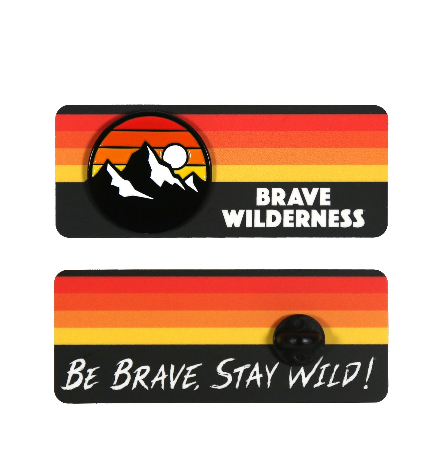 Brave Wilderness Icon Pin