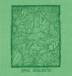 Brave Wilderness Jungle Biome Tee - Green Triblend