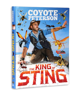 Coyote Peterson's 'The King Of Sting' - Autographed