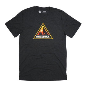 One of the Pack Tee - Charcoal Black Triblend