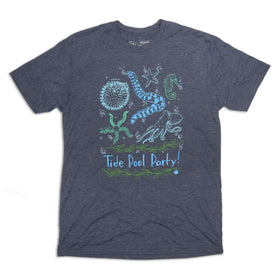 Tide Pool Party Tee - Vintage Navy Triblend