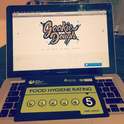 Gookie Dough Hygiene Rating
