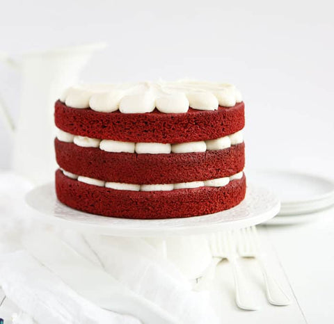 red velvet cake texture. For The Cake\u0027s Colour Are Non-Dutch Processed Strong Cocoa, Vinegar And Buttermilk. Combination Resulted In A Firm, Smooth, Deep Red-brown Texture. Red Velvet Cake Texture