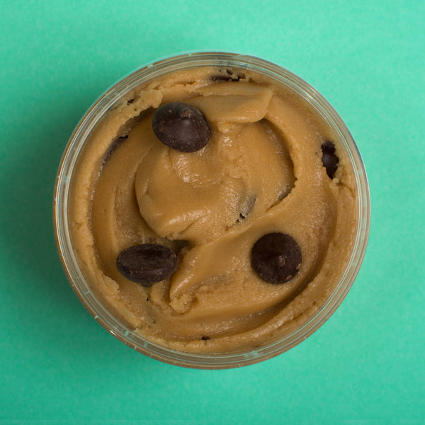 Gooey Chocolate Chip Edible Cookie Dough Mini Tubs