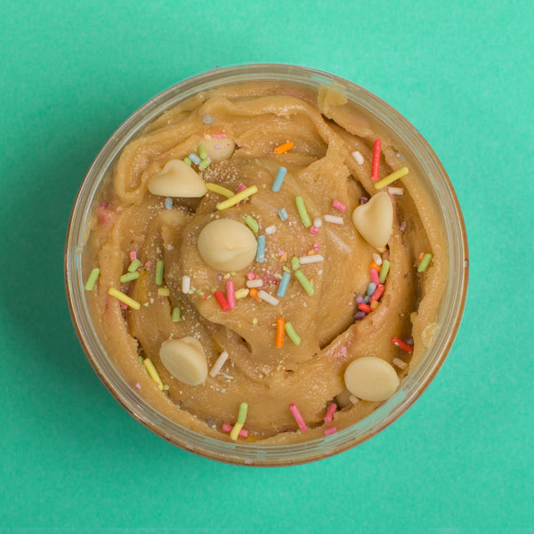 Funfetti Cake Batter Edible Cookie Dough Mini Tubs