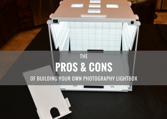 The Pros & Cons of Building Your Own Photography Light Box
