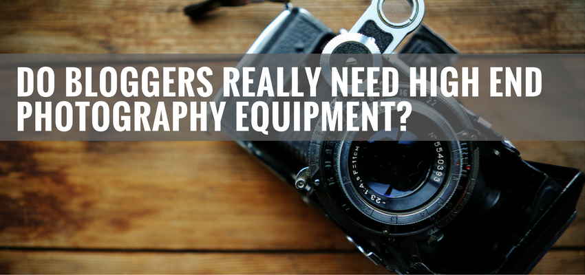 Think You Need High End Camera Equipment To Run An Amazing Craft Blog? Think Again
