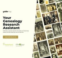 goldiemay, the FamilySearch browser extension for easier research