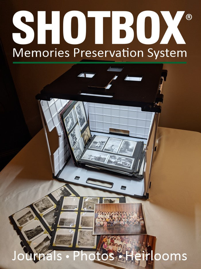 The SHOTBOX Memories Preservation System - Includes Full Add-On Bundle - SHOTBOX