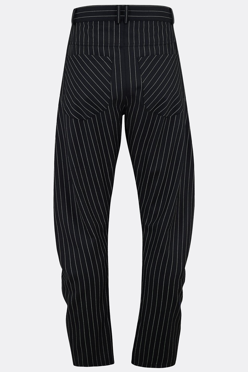 APACHE TROUSERS IN BLACK ROPE STRIPE-menswear-A Child Of The Jago