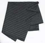 APRON IN GREY PINSTRIPE-accessories-A Child Of The Jago