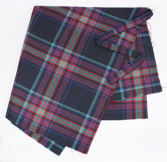APRON IN PURPLE TARTAN-accessories-A Child Of The Jago