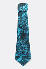 ARCADIA SILK TIE IN BLUE-accessories-A Child Of The Jago