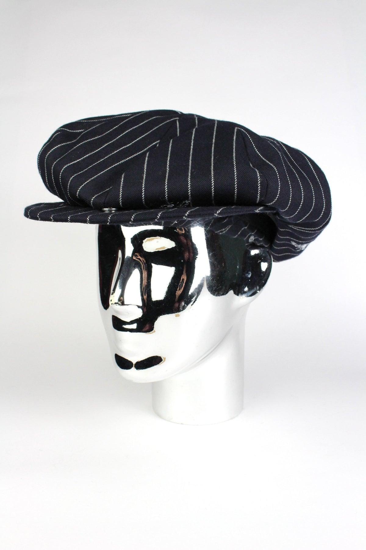 BAKER BOY - WASP NAVY STRIPE-hats-A Child Of The Jago