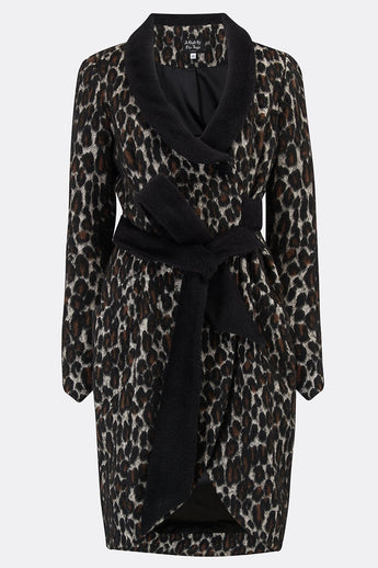 BOB TROTTER DRESS IN LEOPARD-womenswear-A Child Of The Jago