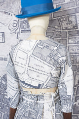 BONNY CROP TOP IN CHARCOAL BOUNDARY-womenswear-A Child Of The Jago