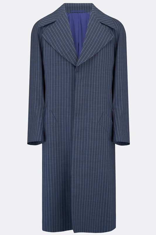 CAGNEY COAT IN BLUE STRIPE-menswear-A Child Of The Jago