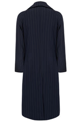 CAGNEY COAT IN NAVY STRIPE-menswear-A Child Of The Jago