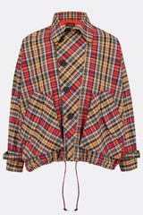 CAROUSEL CHECK SLEEVED MANTLE-menswear-A Child Of The Jago