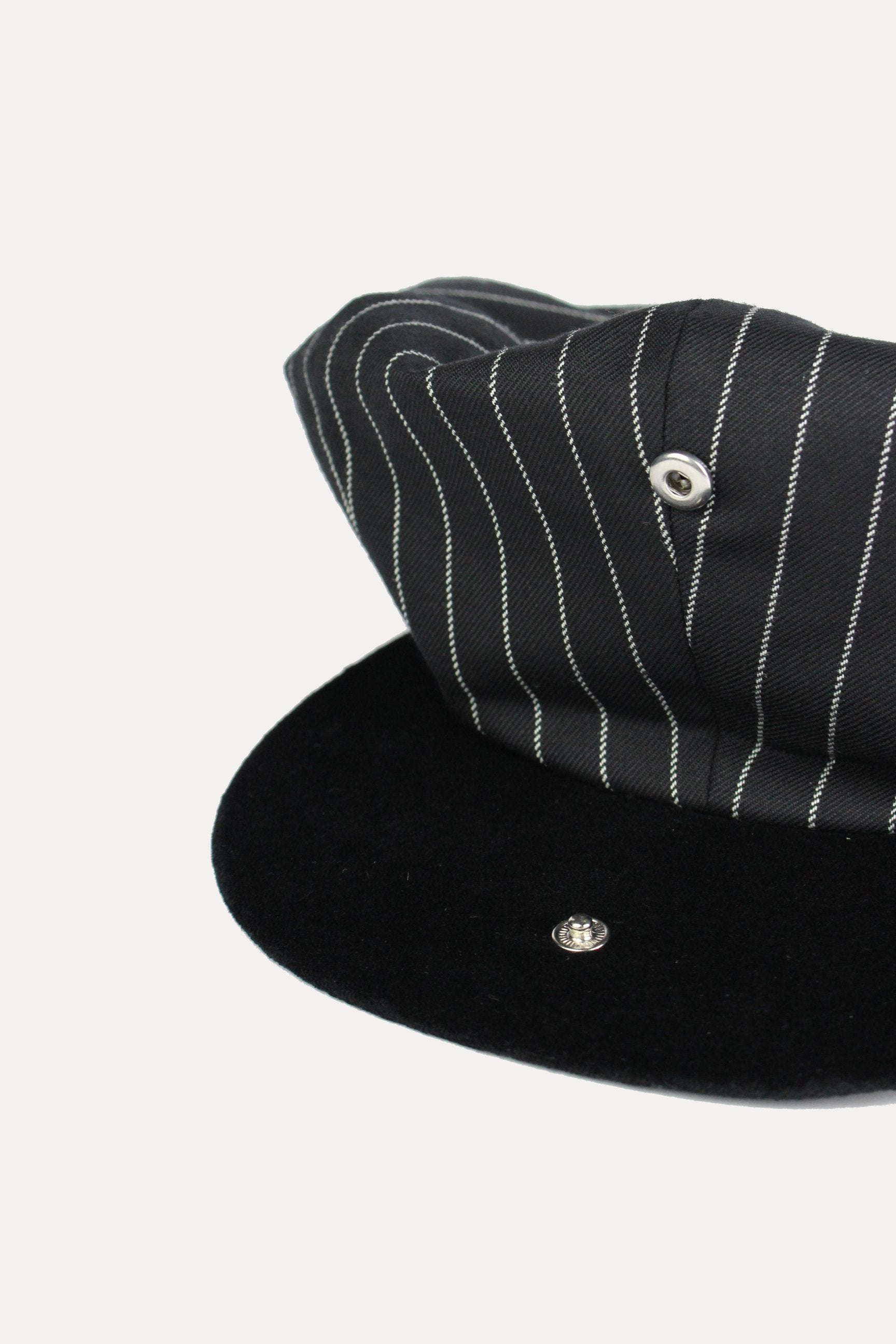 CLYDE - BLACK ROPE STRIPE-hats-A Child Of The Jago