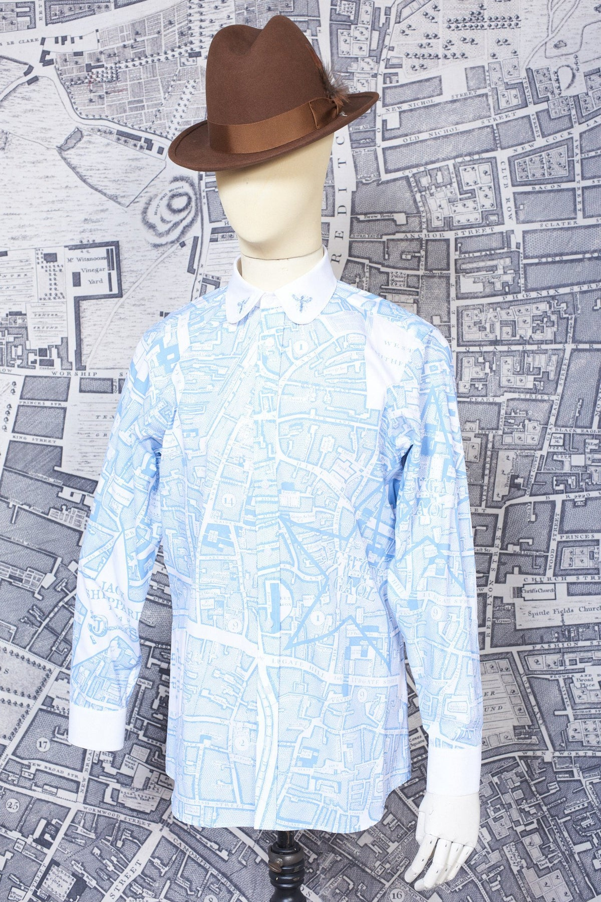 CONTRAST BOUNDARY SHIRT-menswear-A Child Of The Jago