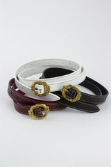 DILLINGER BELT IN LEATHER VARIOUS COLOURS-accessories-A Child Of The Jago
