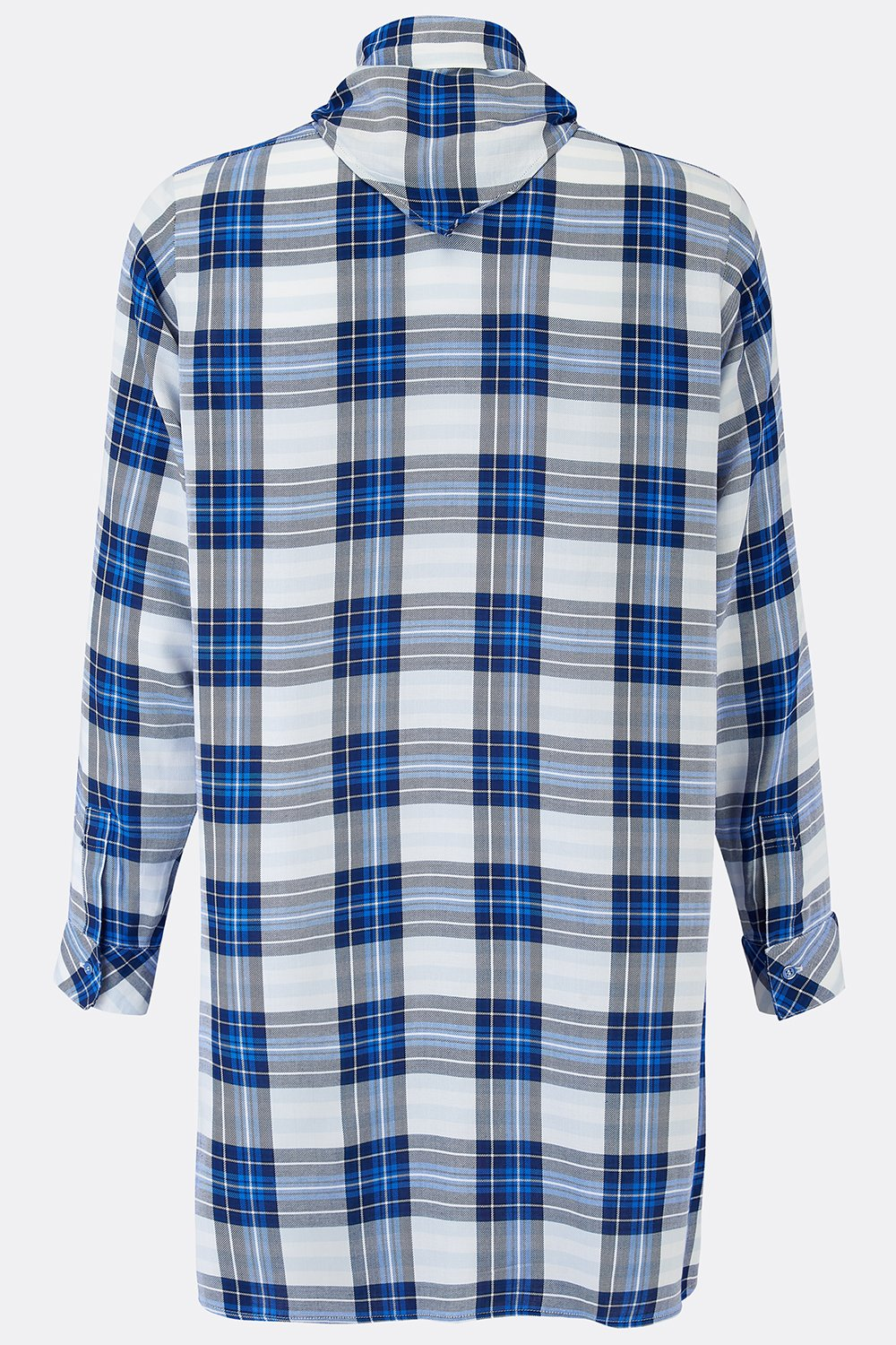 DRESS SHIRT IN BLUE CHECK-menswear-A Child Of The Jago