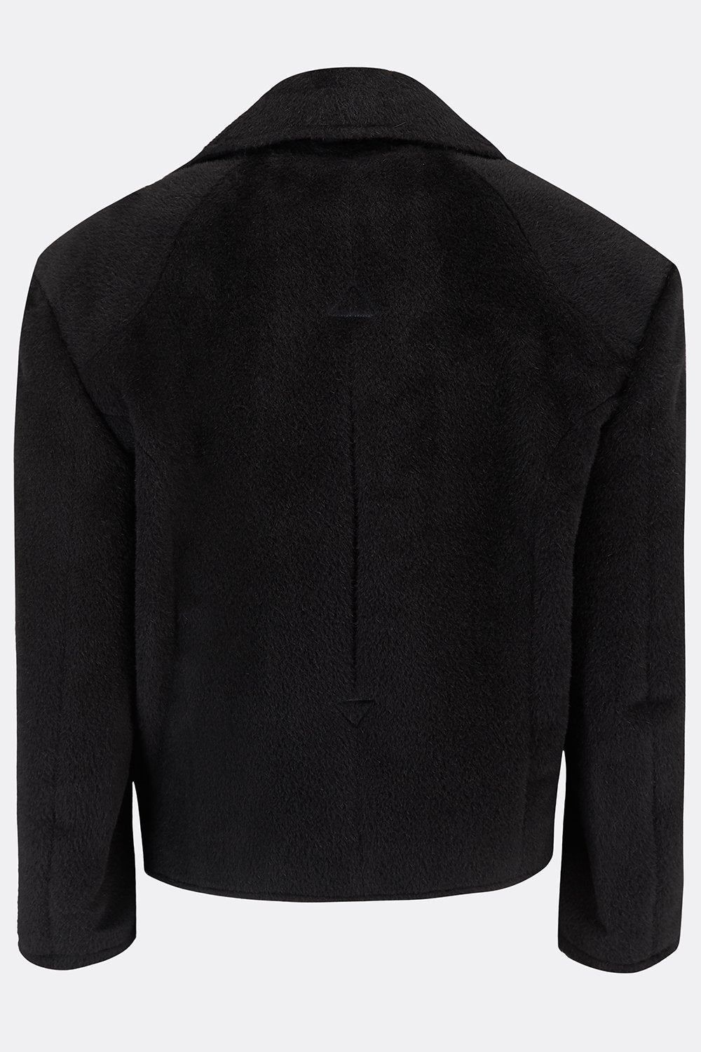 HENCHMAN JACKET IN BLACK ALPACA-menswear-A Child Of The Jago