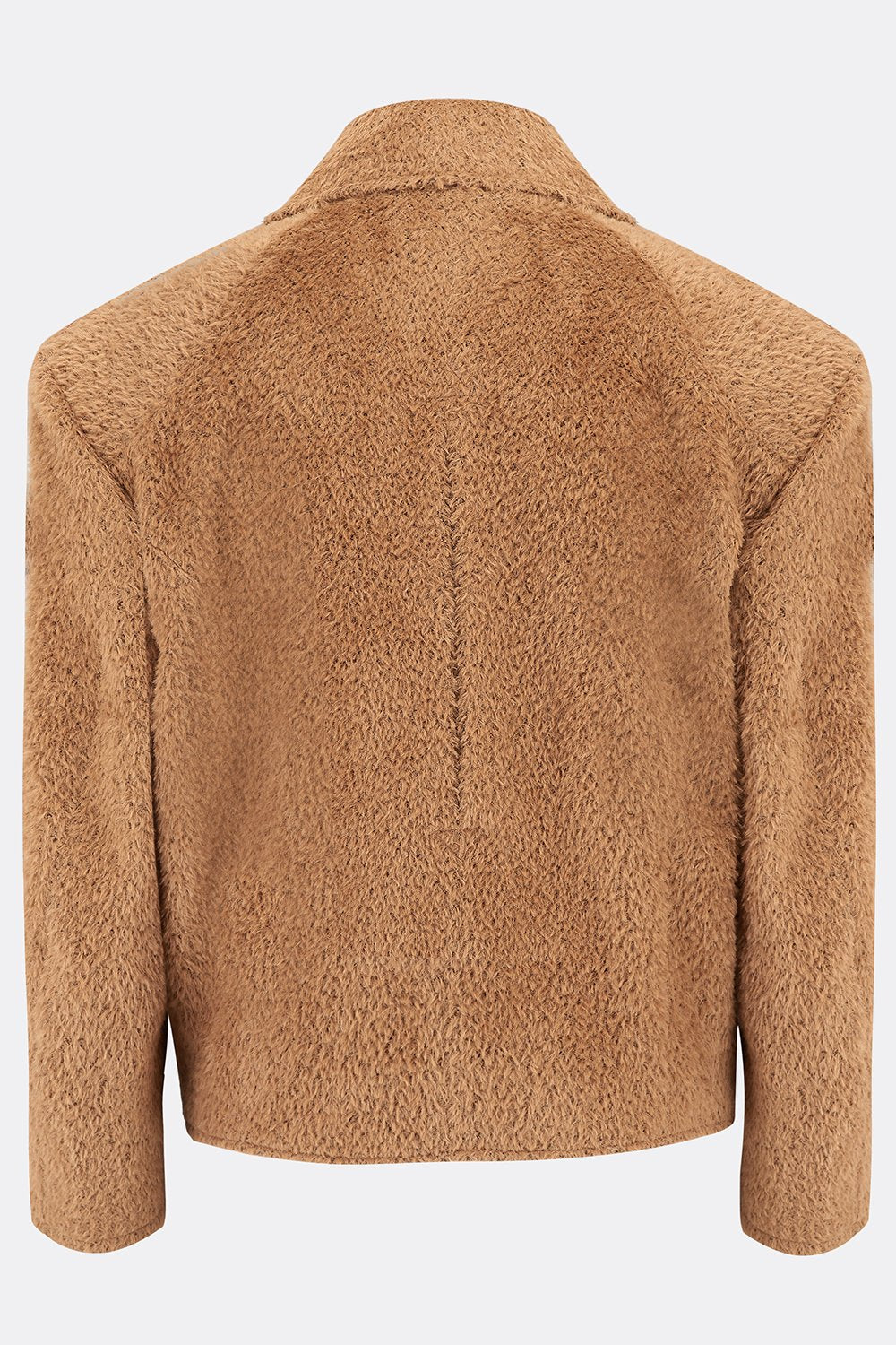HENCHMAN JACKET IN BROWN ALPACA-menswear-A Child Of The Jago