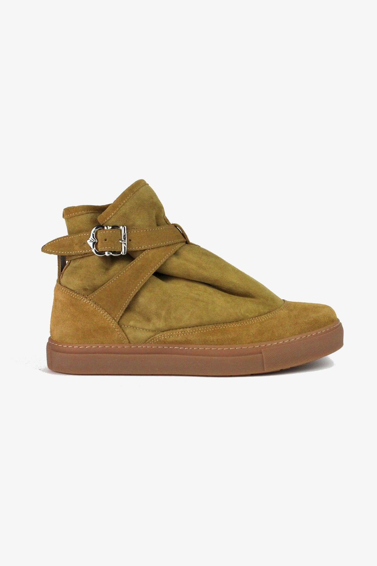 HIGHPAD SNEAKER SAND SUEDE-shoes-A Child Of The Jago