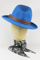 HIGHWAYMAN HAT WITH LEATHER BAND IN VARIOUS COLOURS-hats-A Child Of The Jago