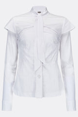 JEANNE D'ARC SHIRT WHITE-womenswear-A Child Of The Jago
