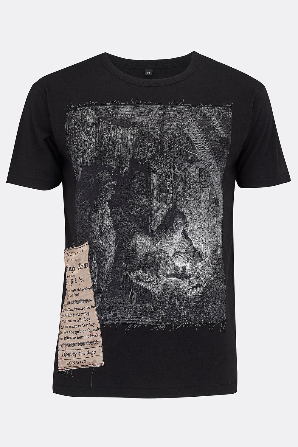LIMEHOUSE BLACK TEE SHIRT-T shirts-A Child Of The Jago