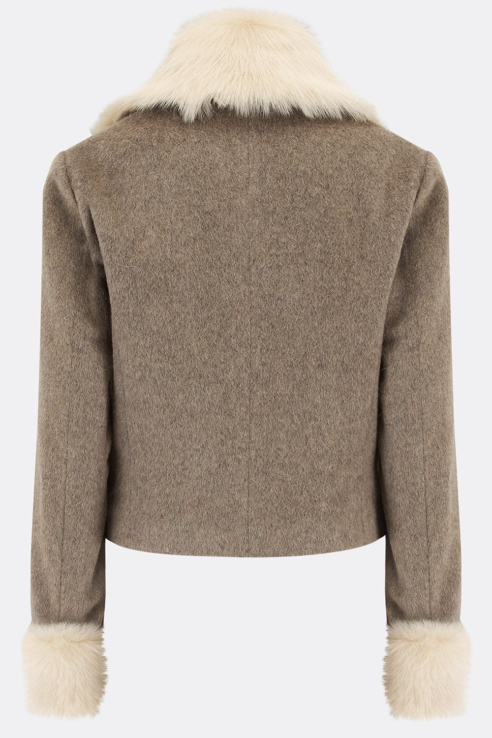 MAE JACKET IN BEIGE ALPACA-womenswear-A Child Of The Jago