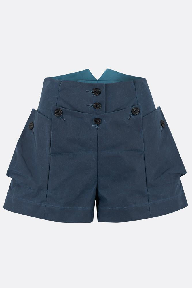 MAGWITCH SHORTS IN BLUE-womenswear-A Child Of The Jago