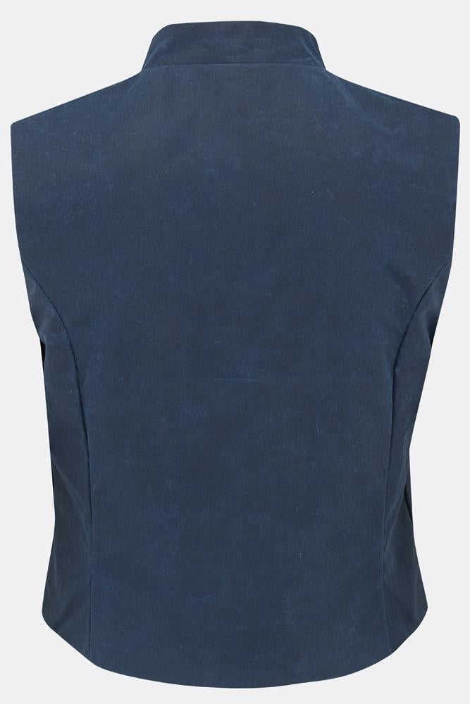 MAGWITCH WAISTCOAT IN BLUE-womenswear-A Child Of The Jago