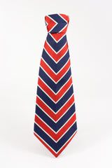 ROCHESTER TIE IN NAVY RED STRIPE-menswear-A Child Of The Jago