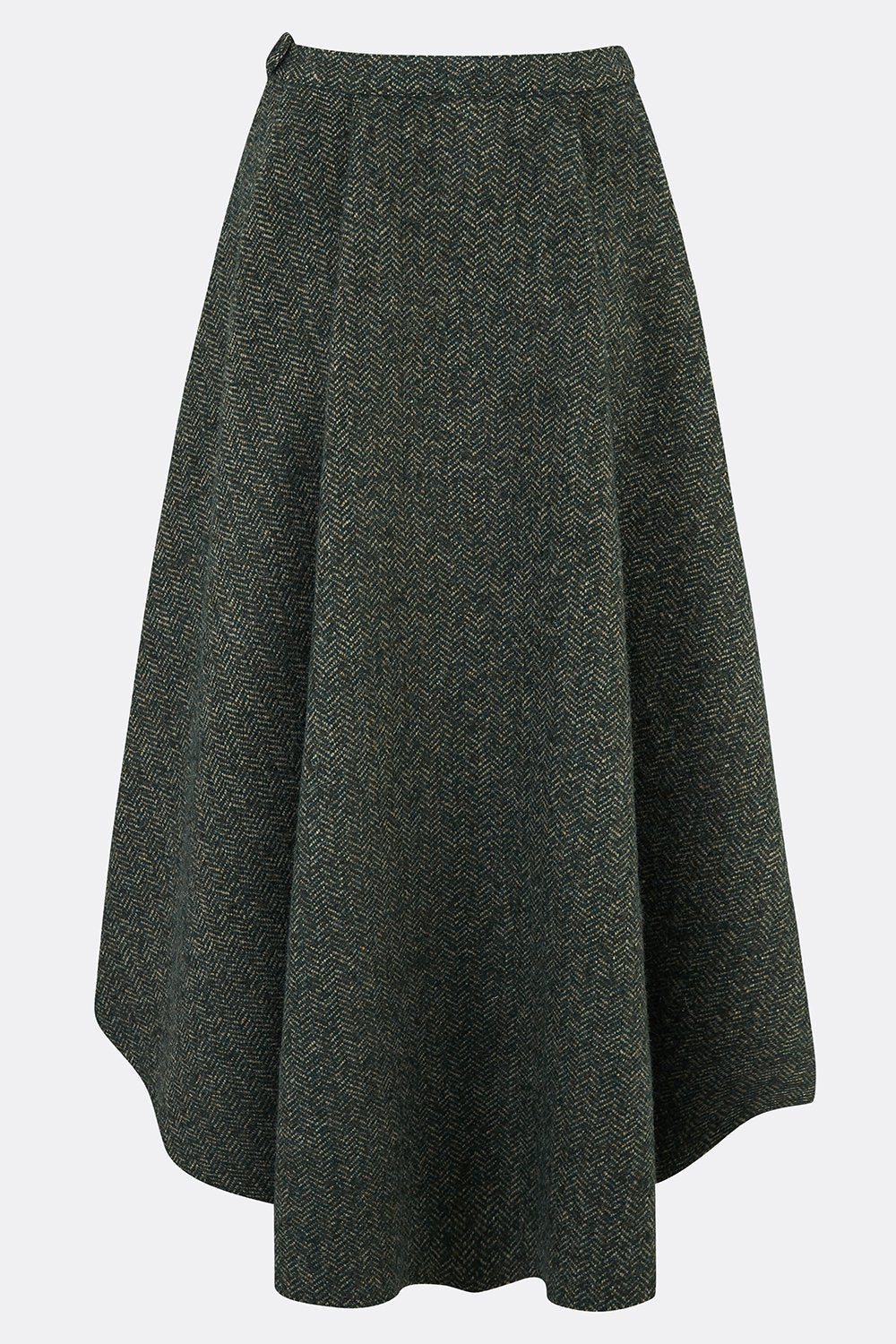 ROXANA SKIRT IN HERRINGBONE TWEED-womenswear-A Child Of The Jago