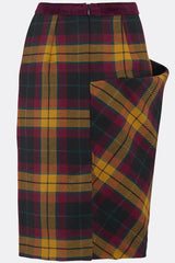 TEDDY SKIRT IN MACMILLAN TARTAN-womenswear-A Child Of The Jago
