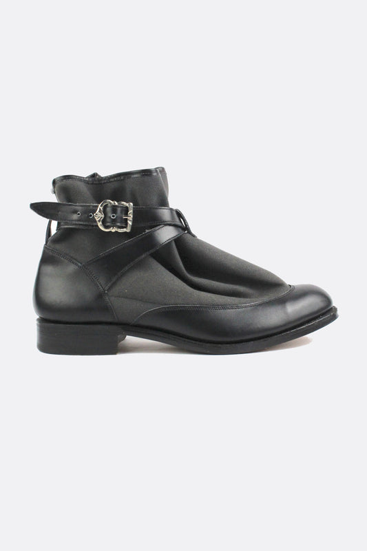 TRICKER'S HIGHPAD BOOTS BLACK-shoes-A Child Of The Jago